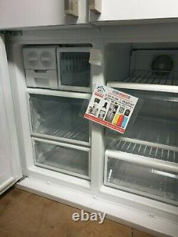 New Smeg French Four Door FQ60BPE American Fridge Freezer In Gloss White A+ 610L