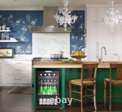 Outdoor Tropical Double Glazed Glass Bar Fridge 70 Litre (WithD/H) 430x475x690mm