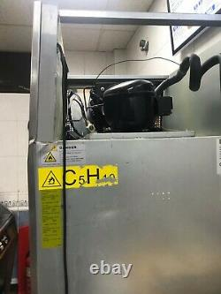 Polar Single Door Fridge Stainless Steel 600Ltr G592 Catering Commercial