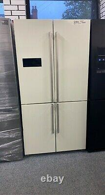 Rangemaster American Style 4 Door Fridge Freezer Ivory Cream Rsxs18iv/c