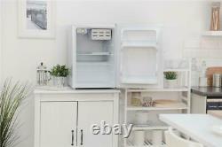 Russell Hobbs RHTTF67W 66 L Reversible Doors Table Top Mini Fridge/Cooler, White