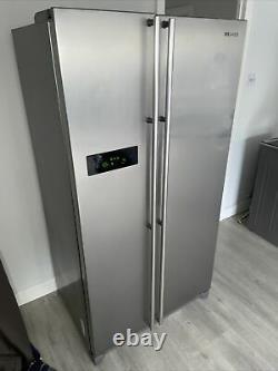 Samsung Free Standing Double Door Fridge Freezer Stainless Steel
