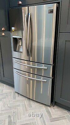 Samsung RF24FSEDBSR American Freestanding Fridge Freezer 4 Door Stainless Steel