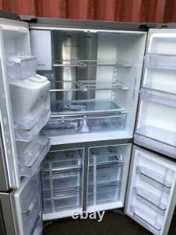 Samsung RF56J9040SR 4-Door American Style Fridge Freezer A+ Energy Rating 90cm