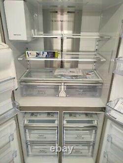 Samsung RF56J9040SR 4 Door American Style Fridge Freezer A+ Stainless Steel