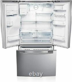 Samsung RFG23UERS1 520L American Freestanding Fridge Freezer French 3 Door