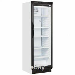 Sc381 Single Glass Door Upright Drink Display Cooler Fridge Bottle Can Chiller