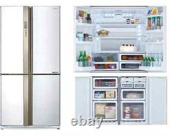 Sharp Sj-EX820F White French Door Fridge Freezer A++ 6 months old
