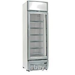 Single Glass Door Display Freezer