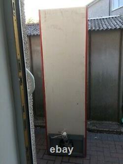 Single Glass Door Husky Drinks Display Commercial Fridge In Good Working Conditi