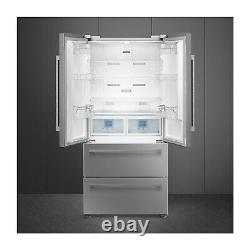 Smeg FQ55FXDF French-door Style Large Fridge Freezer Stainless Steel Look