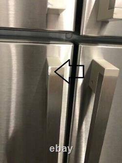 Smeg FQ60XP Stainless Steel 4-Door American Fridge Freezer (1)