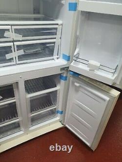 Smeg FQ960P 4-Door American Style Fridge Freezer, Cream Ex Display