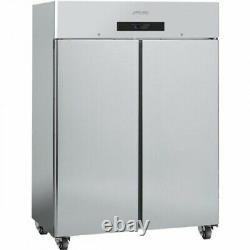 Smeg RC1400LTUK Double Door Commercial Freezer Stainless Steel FA9226