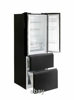 Teknix TFD70180B 70cm American Fridge Freezer French Door