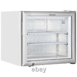 UFG50 SMALL GLASS DOOR ICE CREAM FREEZER @ £458+Vat & FREE NEXT DAY DELIVERY