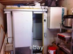 Used Cold Room Walk In Freezer Sliding Door Chiller not included