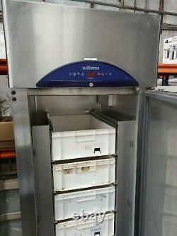 Williams Commercial Stainless Steel Upright Single Door Fish Freezer Unit VGC