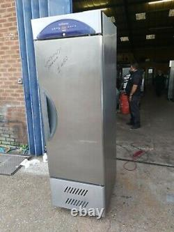 Williams slim line freezer commercial upright single door stainless steal 60cm