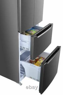Wolkenstein Frenchdoor Kühlgefrierschrank Schubladen SideBySide NoFrost Display