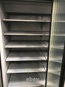 1.5m Verco Double Door Drinks Display Freezer Frozen Shop Catering Réfrigération