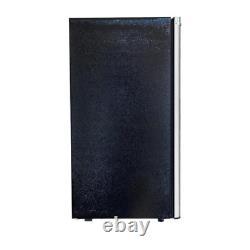 3.2 Cu. Ft. Rétro Mini Réfrigérateur Sans Congélateur Avec Conception De Porte Platine