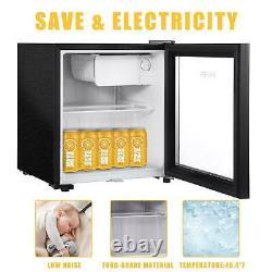 43l/63l/83l Mini Refrigerator Glass Door Shop Display Desktop Beer Drink Cooler