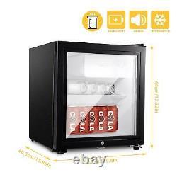 43l/63l/83l Réfrigérateur Porte En Verre Réfrigérateur Tabletop Cooler Chambre À Coucher Maison Bureau