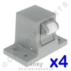 4 X Attaches Fermod Door Catch Block Latch Pour Se Promener Dans Le Réfrigérateur Cold Room Store