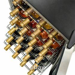 95l Porte En Verre Boissons & Refroidisseur De Vin Endercounter Mini Bar Boissons De Bière Frigidaire