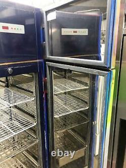 Aga (williams) Congelateur De Porte Simple Commercial- Sur Mesure Peint En Multi Couleur