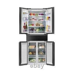 American Style Fridge Freezer Brand New Boxed 5 Door Hoover Hn5d72b 10yguarantee