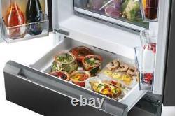 American Style Fridge Freezer Hoover Hn5d72b 5 Portes En Box Et Non Utilisées