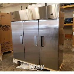 Atosa Ybf9238 Triple Porte Display Top Mount Commercial Fridge Freezer