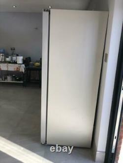 Bosch Fridge American Style Double Door Gris Argent