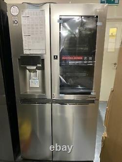 Congélateur À Réfrigérateur Intelligent De Style Américain Lg Gsx961nsvz -acier Inoxydable (porte En Porte)
