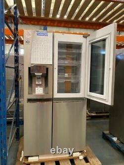 Congélateur De Réfrigérateur Intelligent De Style Américain Lg Instaview Porte-à-porte Gsx961nsvz