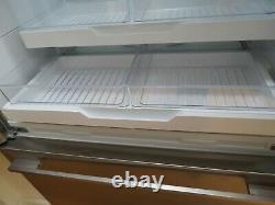 Fisher & Paykel Rf540adux3fp Français Door Fridge Freezer Ice/water, S/steel