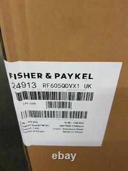 Fisher & Paykel Rf605qdvx1 Frost Free Multi Door Fridge Congélateur Inoxydable