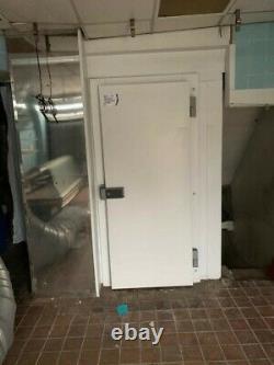 Freezer Cold Room Walk In Freezer Room Porte Sur Cadre Avec Chauffe-eau