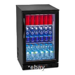 Fridge Minibar Fridge Glass Door 108l Fridge Drinks Fridge Cooler Bottle