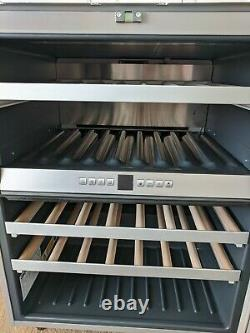 Gaggenau Wine Cooler Fridge Rw404260/05 Porte En Verre En Acier Inoxydable À Double Zone