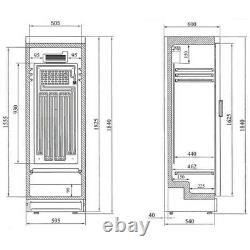 Glass Door Shop Drinks Merchandiser Fridge Single Door Sc381 & Livraison Le Lendemain