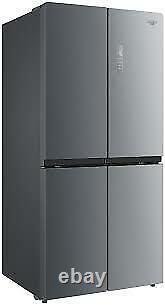 Gradedbush Réfrigérateur Américain Congélateur 4 Portes Mmd4s Argent