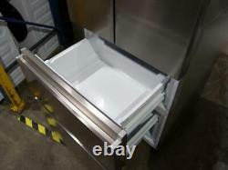 Haier Hb15fpaa Acier Inoxydable Argent 4 Portes Réfrigérateur Congélateur 70cm Large Pfa Ao G
