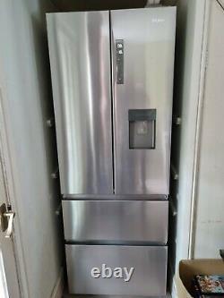 Haier Hb16wmaa Multi Porte 60/40 Réfrigérateur Congélateur En Acier Inoxydable