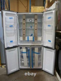 Haier Htf-556dp6 Acier Inoxydable Argent 4-door American Fridge Freezer Pfa Ao