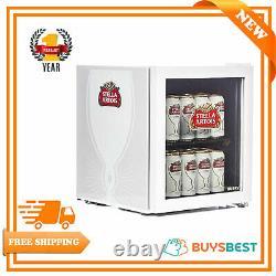 Husky Stella Artois Table Top Drinks Cooler Mini Beer Fridge Glass Door 48lhu219