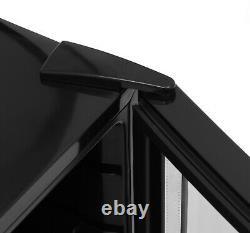 Iceking Df48k 48 Litres Table Top Mini Fridge Drinks Chiller, Glass Door Black