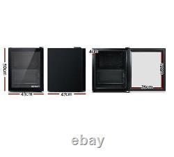 Igloo 46l Barre De Porte En Verre Réfrigérateur Mini Comptoir Réfrigérateur Chiller Refroidisseur De Bouteille